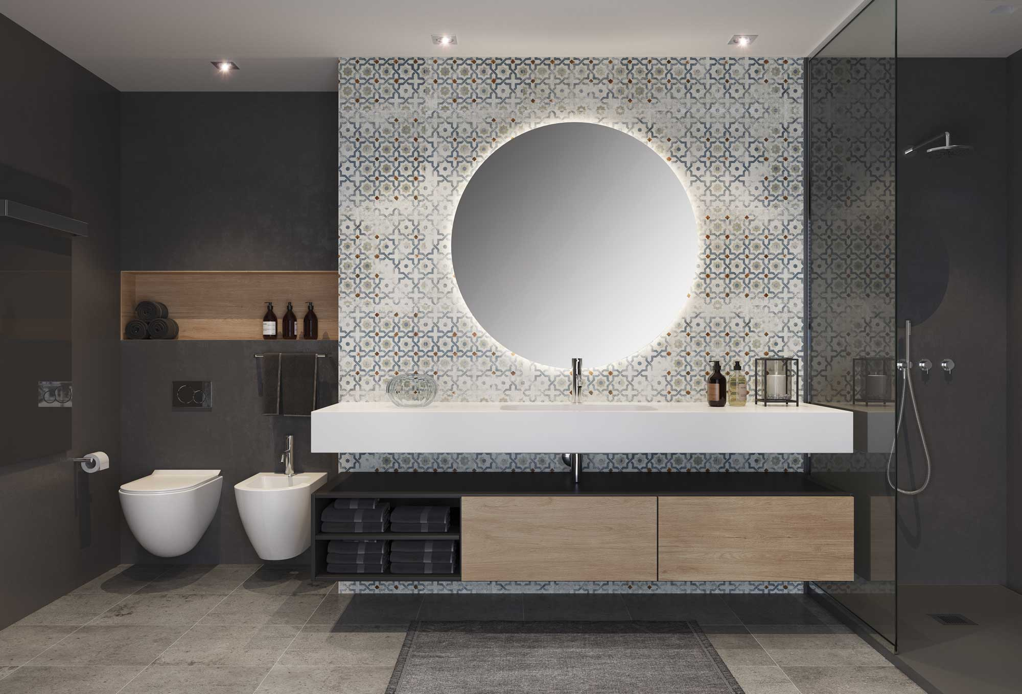 Mejora la iluminación de tu baño
